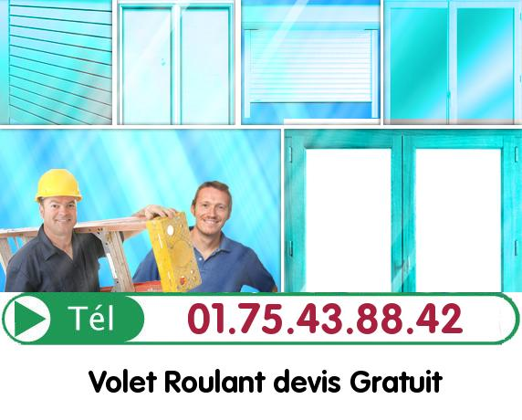 Deblocage Volet Roulant La Madeleine sur Loing 77570