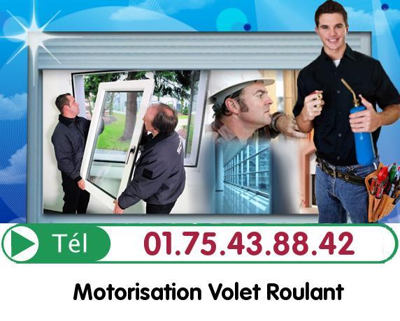 Deblocage Volet Roulant Villaines sous Bois 95570