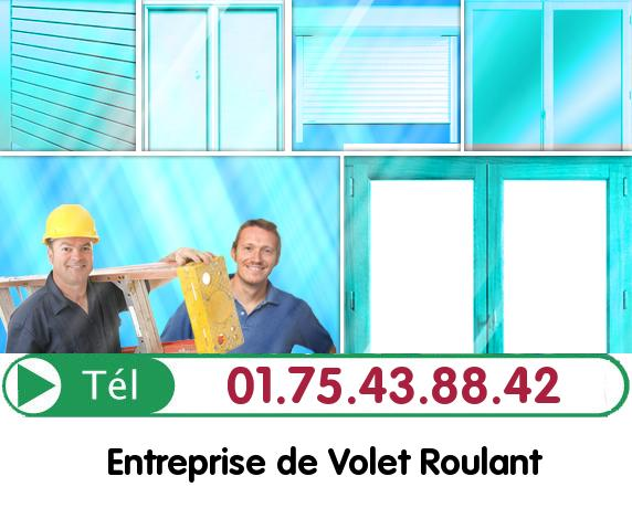 Réparation Rideau Metallique Montainville 78124